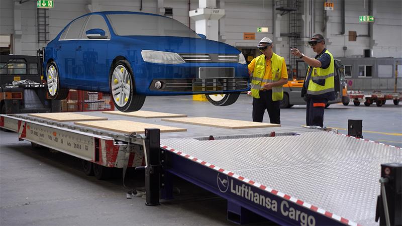 Lufthansa Cargo Warehouse Build-Up